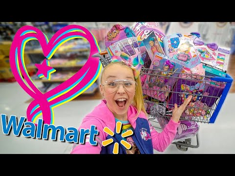 BUYING EVERY JOJO PRODUCT AT WALMART!!