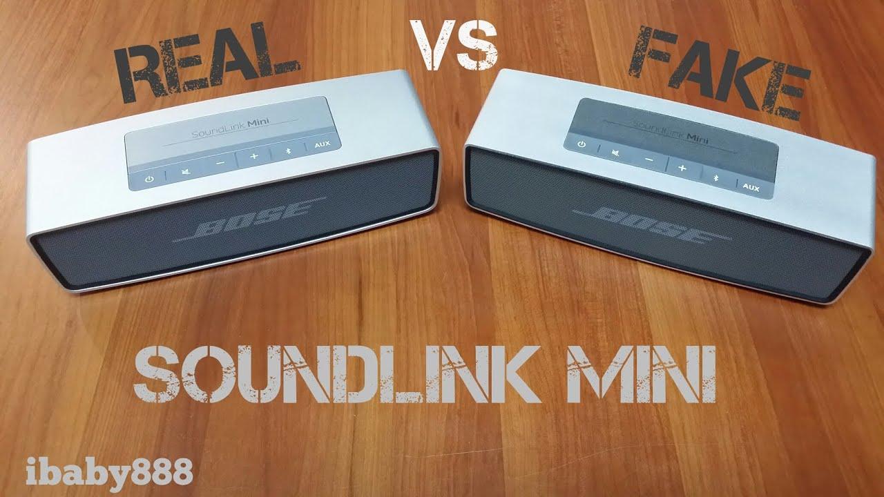 bose soundlink mini speaker original vs replica youtube. Black Bedroom Furniture Sets. Home Design Ideas