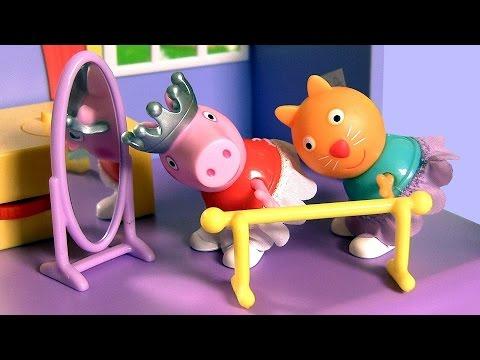 Видео свинка пеппа карусель тв