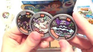 Yo-Kai Watch Series 1 - Medal Mystery Box (Part 2/2)