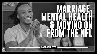 Marriage, Mental Health & Moving On From The NFL | I AM ATHLETE with Brandon Marshall & More