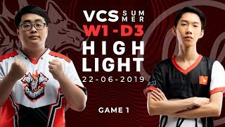 CES vs LK_HighLights [VCS Mùa Hè 2019][22.06.2019][Ván 1]