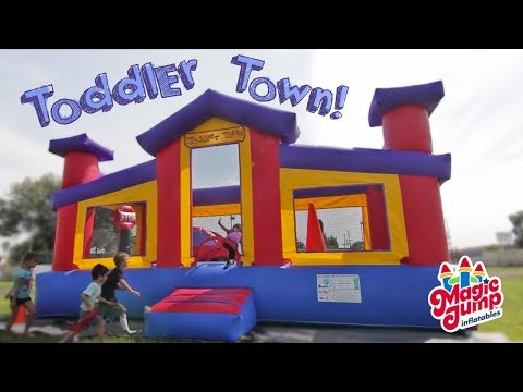 Toddler Town - Inflatable Combo Unit | Magic Jump, Inc.