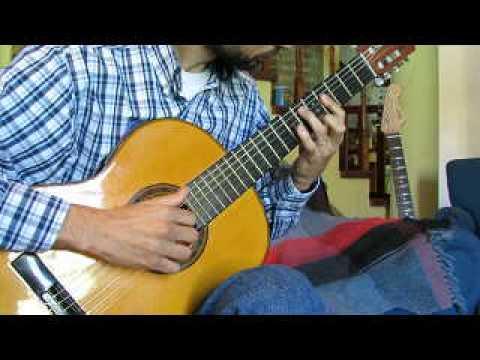 Tonada del viejo amor - Eduardo Falu - Guitarra clásica