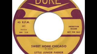 LITTLE JUNIOR PARKER - Sweet Home Chicago [Duke 301] 1958
