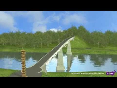 3D visualization of Alytus bridge
