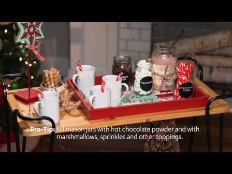 Wintertime Warmth! | Hot Cocoa Bar Cart
