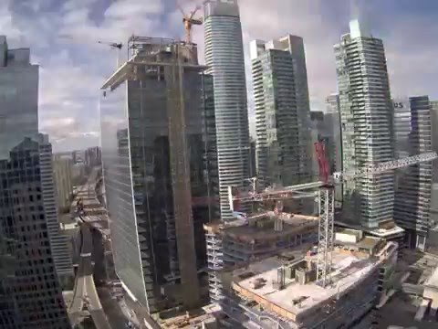 One York & Harbour Plaza Time Lapse - March 14, 2016