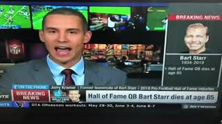 Jerry Kramer's Statement On The Passing Of Bart Starr. NFL Network