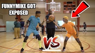 1V1 Basketball vs My Lil Brother For $1000 (LOSER GOES BALD)