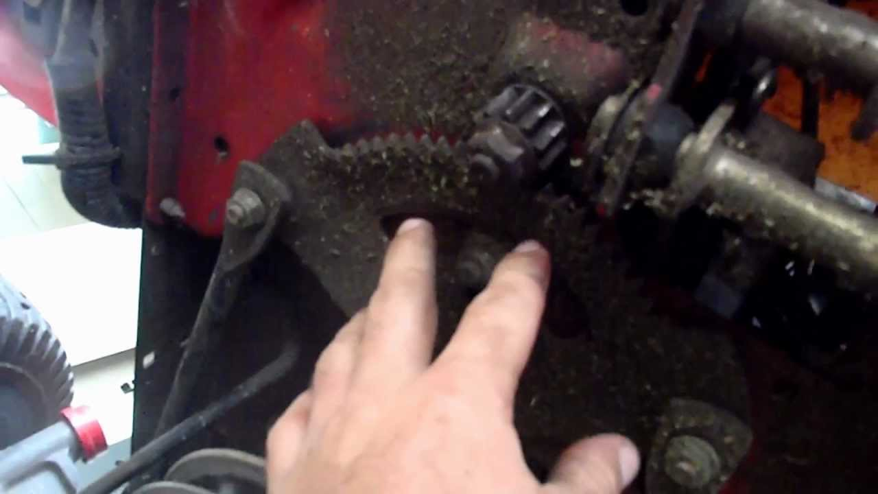 Troy Bilt Steering Fix Slipping How To Fix It Youtube