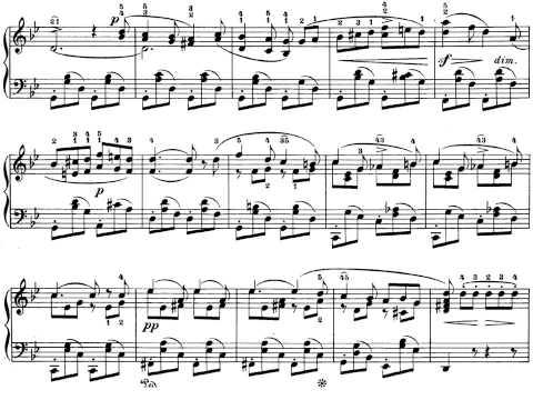F. Mendelssohn. Romanzas sin palabras. Cuaderno nº 1 Op. 19. 6. Andante sostenuto.