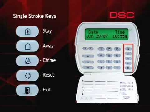 How to use your DSC Security System