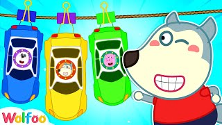 Wolfoo Paints Toy Cars and Has Fun with Colorful Cars | Wolfoo Channel Kids Cartoon