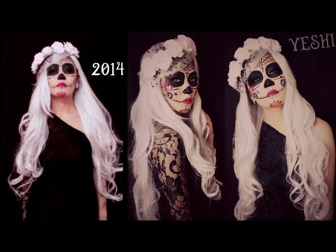 Baixar Easy Sugar skull Makeup tutorial - Halloween 2014