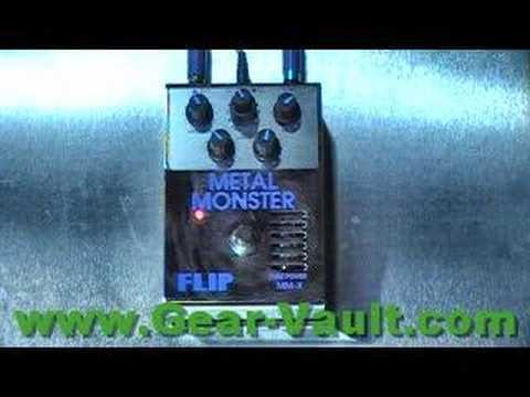 Guyatone MMX Metal Monster thru a 1988 Randall RG100ES