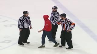Hockey Fans On Ice