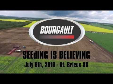 Bourgault 2016 SEEdING IS BELIEVING Field Day
