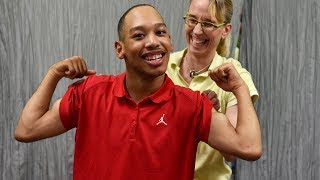 Ahead of Rae Carruth's release from prison, Saundra Adams says she's forgiven him