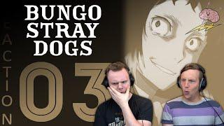 SOS Bros React - Bungou Stray Dogs Season 1 Episode 3 - Enter the Port Mafia!