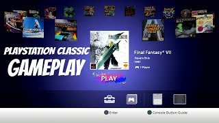 playstation classic gameplay