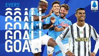 CR7's towering header and Napoli score SIX!   EVERY Goal   Round 2   Serie A TIM