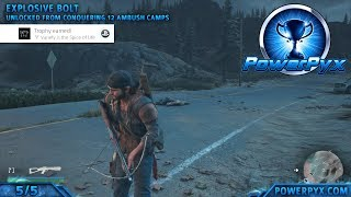 Days Gone - Variety is the Spice of Life Trophy Guide (All Crossbow Bolts)