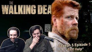 """The Walking Dead Season 5 Episode 5 Reaction """"Self Help"""""""