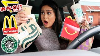 Letting The Person In Front Of Me Decide What I Eat For 24 HRS! *NEVER AGAIN*