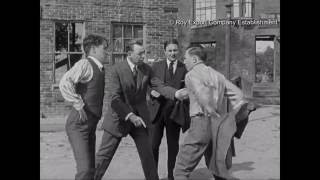 Charlie Chaplin Boxes Benny Leonard - Behind the Scenes Archival Footage