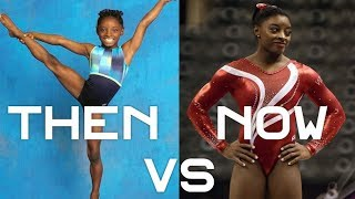 Simone Biles then (2010) vs now (2016/2017) | Gymnastics