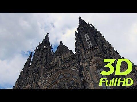 [3D] St. Vitus Cathedral, Prague, Czech Republic / Katedrála svatého Víta, Praha, Česko