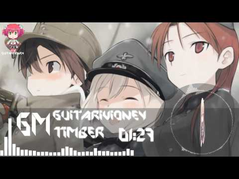 Nightcore - Timber (GuitarMoney)