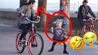 EVERLEIGH PRANKS BIKERS!! (HILARIOUS REACTIONS)