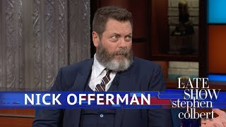 Nick Offerman Considers His 'Survivor' Strategy