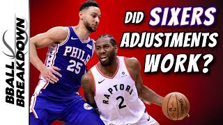 Did Sixers Adjustments Really Work vs Raptors In Game 2?