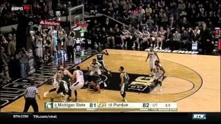 Michigan State at Purdue - Men's Basketball Highlights