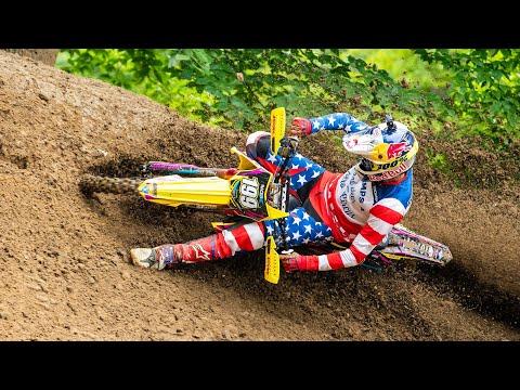 Travis Pastrana Two-Stroke Motocross 2003 Suzuki RM125 - Garage Build - Racer X Films
