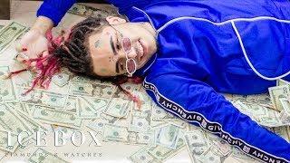 Lil Pump Makes It Rain $500K At Icebox!