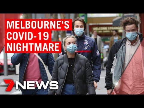 Coronavirus: Melbourne's COVID-19 nightmare as cases soar | 7NEWS