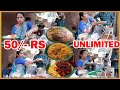 100 Plates Finish an Hour | Hard Working Lady Selling Meals | Hyderabad Street Food Videos