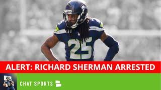 ALERT: Former Seahawks CB Richard Sherman Booked For Burglary Domestic Violence In Seattle