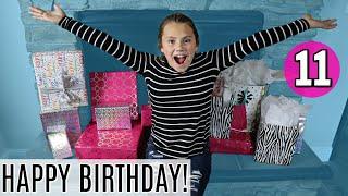 Gracelynn's Birthday PARTY!   Opening PRESENTS!