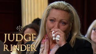 Woman Loses Her Case Against Her Son | Judge Rinder