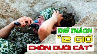 Sao nhập ngũ Mùa 8 - Tập 4 | Thử thách khốc liệt - Vùi mình dưới cát Mạc Văn Khoa, Mr T, Quang Đăng