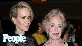 Holland Taylor Gushes Over Girlfriend Sarah Paulson's Red Carpet Style & More | People NOW | People