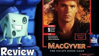 MacGyver: The Escape Room Game Review - with Tom Vasel