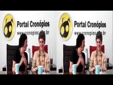 Portal Cronópios - Videocast com Cláudia Maria de Vasconcellos