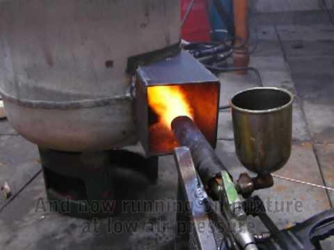 Waste Oil Burner Heater Youtube
