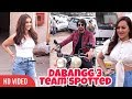Dabangg 3 Team Day 1 Promotion Kichcha Sudeep, Saiee And Sonakshi